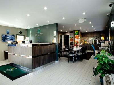 Quality Inn Hotel Hayward - Lobby and Breakfast Area